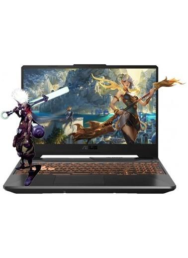"Asus Tuf F15 FX506LI-HN005A23 i5-10300H 64GB 1TBSSD+1TBSSD GTX1650Ti Freedos 15.6"" FHD Taşınabilir Bilgisayar Siyah"